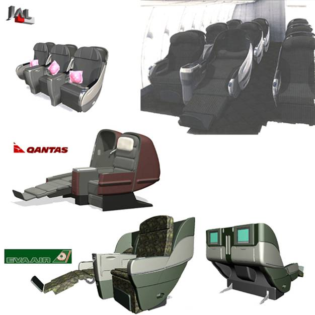 BE Business Class Seat